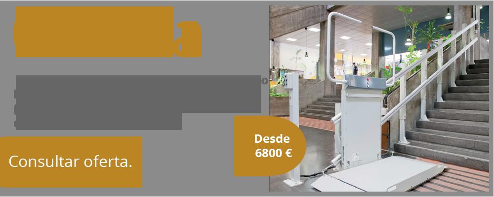 oferta plataforma recta